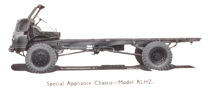 Bedford Green Goddess Chassis